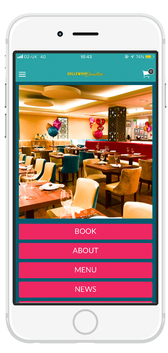 Download our app and stay up to date with all of our latest information, manage your account with simplicity and ease! See and order our full menu be simply clicking on one button!