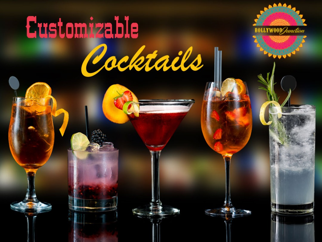 Customizable Cocktails